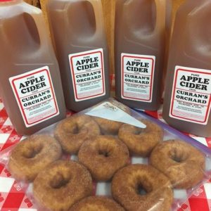 Donuts and apple cider